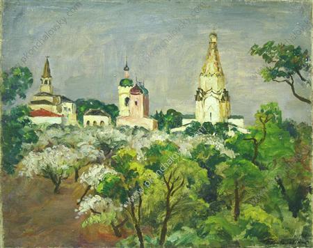 Kolomenskoye. After the rain., 1930