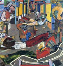 Cecil Ct London WC2 (The Refugees) - R. B. Kitaj