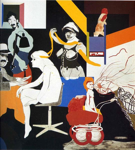 The Ohio Gang - Ron Kitaj