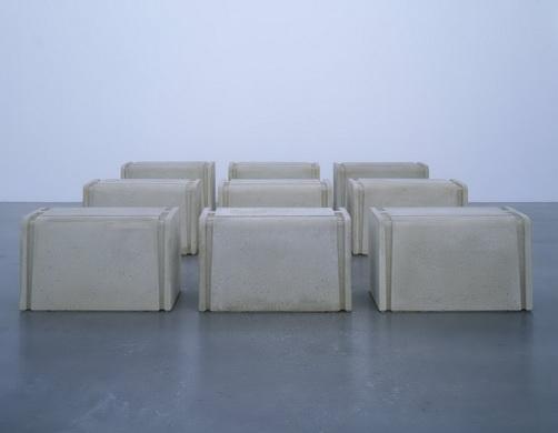 Untitled (Nine Tables), 1998 - Rachel Whiteread