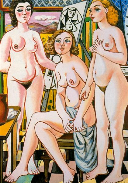 The three graces - Rafael Zabaleta