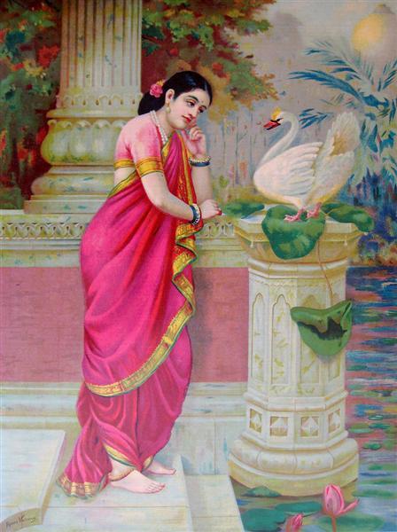 Hansa Damayanthi - Raja Ravi Varma