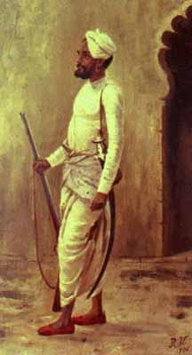 Rajaputra soldier - Раджа Раві Варма
