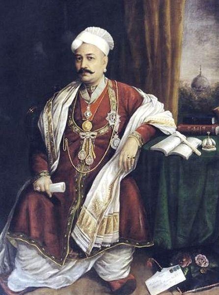 Sir T. Madhava Rao - Ravi Varmâ