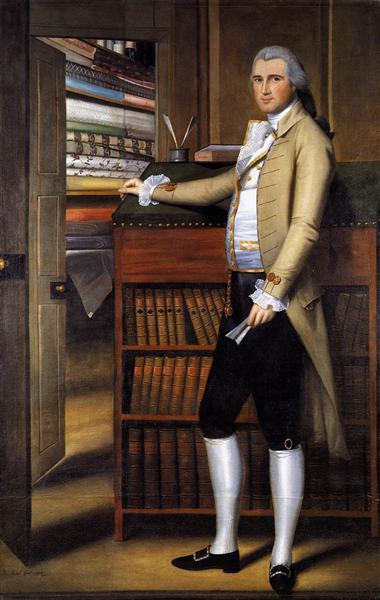 Earl's portrait of Elijah Boardman, 1789 - Ralph Earl