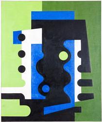 Verde Azul y Negro - Ramirez Villamizar