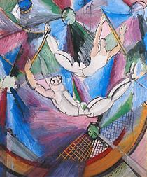 Acrobats - Raoul Dufy