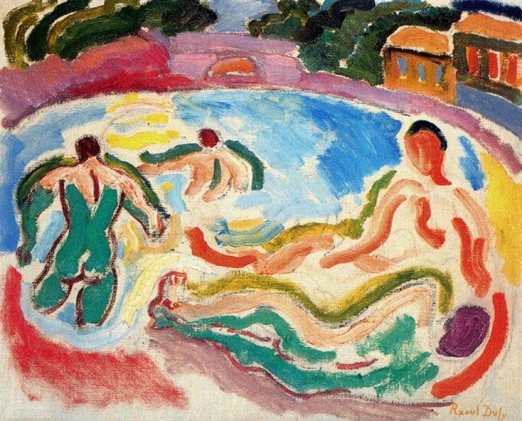 Bathers, 1908 - Raoul Dufy