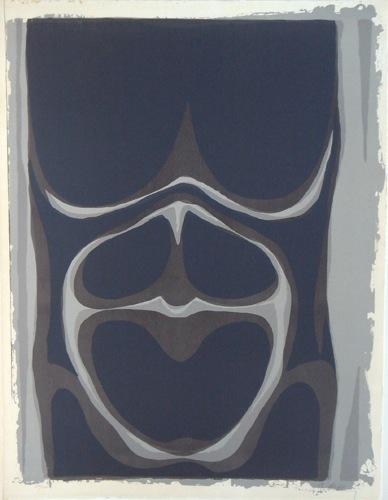 Abstrait, 1968 - Рауль Юбак