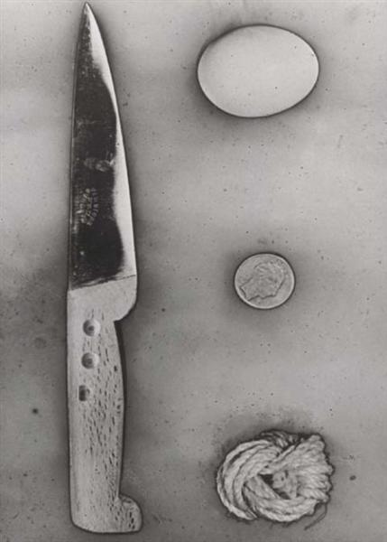 Objets solarisés, 1939 - Raoul Ubac