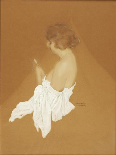 Fanny Brice - Raphael Kirchner