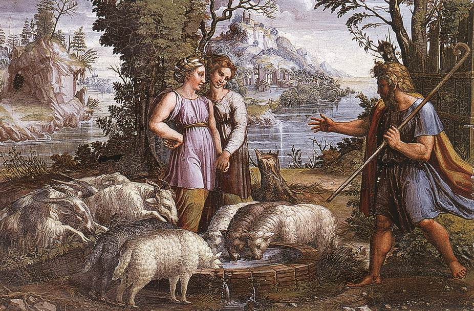 http://uploads3.wikiart.org/images/raphael/jacob-s-encounter-with-rachel-1519.jpg