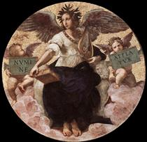 Poetry, from the 'Stanza della Segnatura' - Raphael