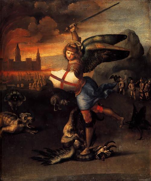 St. Michael, c.1503 - 1505 - Raphael