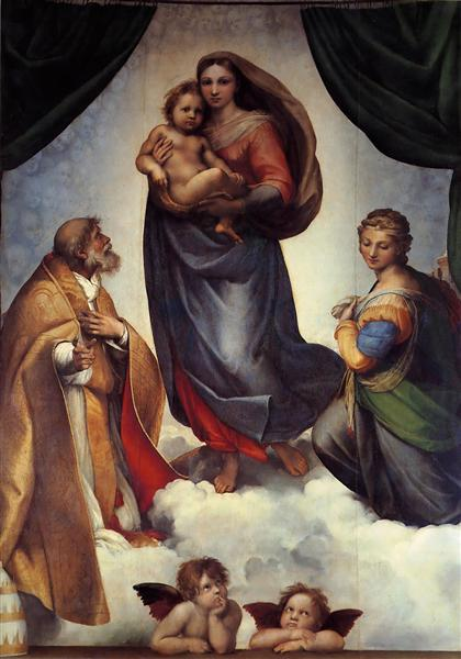 The Sistine Madonna, 1513 - Raphael