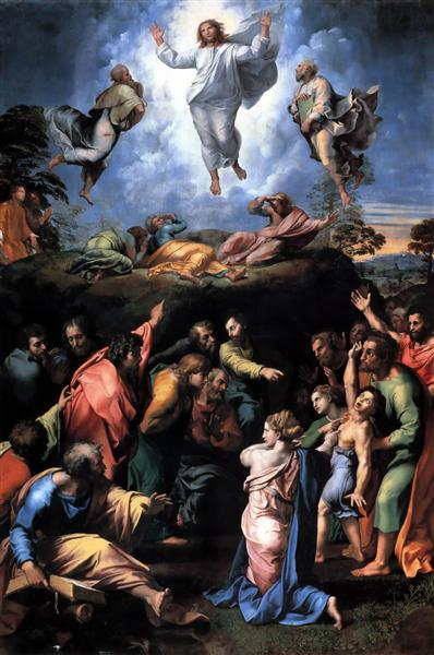 The Transfiguration, 1518 - 1520 - Raphael