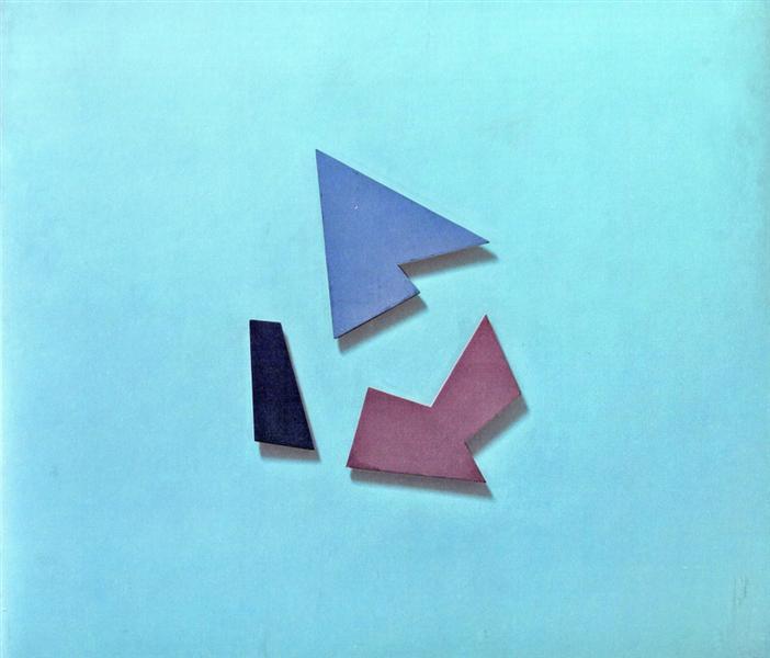 Pintura perceptista nº 184, 1948 - Raul Lozza