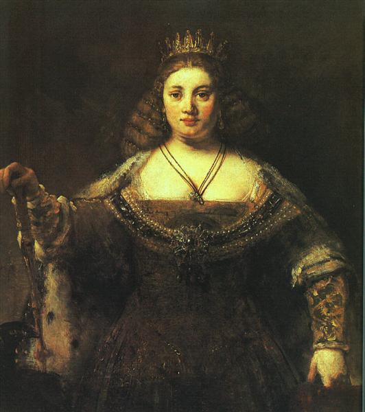 Juno, c.1662 - c.1665 - Rembrandt