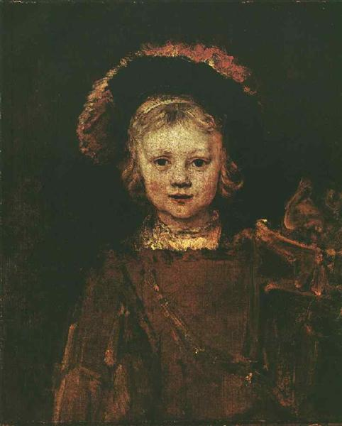 Portrait of Titus - Rembrandt