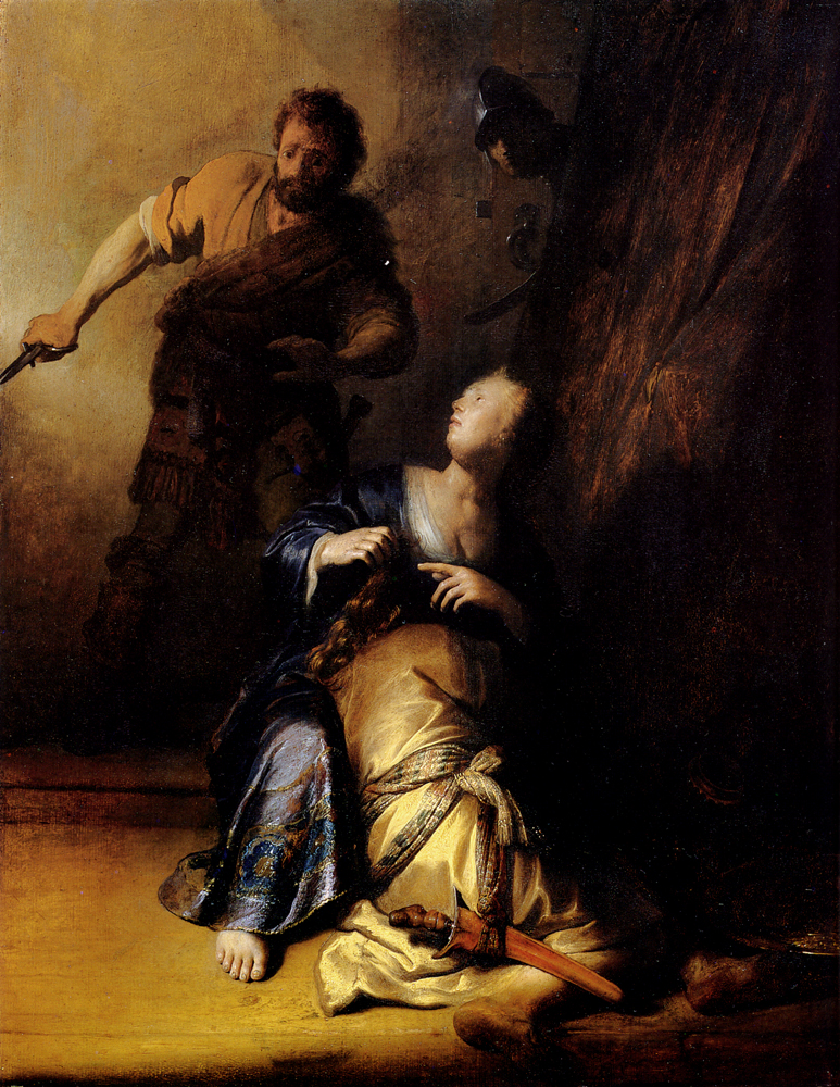 Samson And Delilah, 1628 - Rembrandt - WikiArt.org