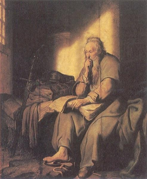 St. Paul in Prison, 1627 - Rembrandt
