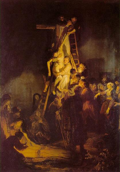 The Descent from the Cross, 1634 - Rembrandt