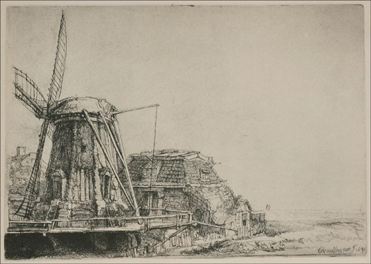 The Mill, 1641 - Rembrandt