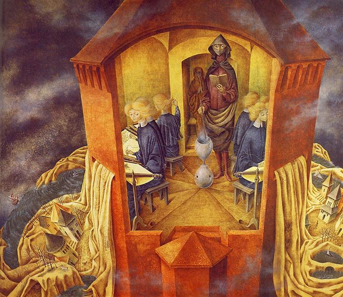 Embroidering the Earth's mantle, 1961 - Remedios Varo
