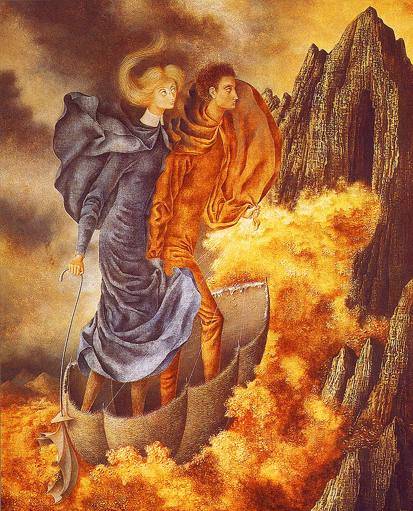 http://uploads3.wikiart.org/images/remedios-varo/the-flight.jpg