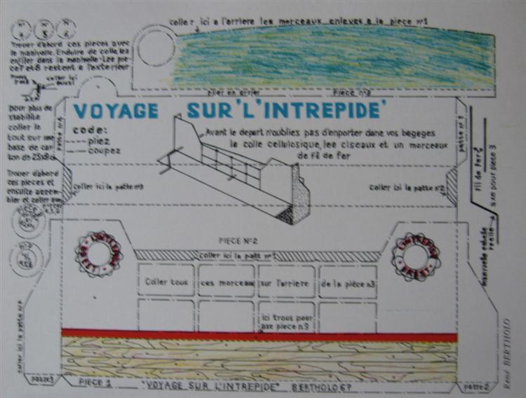 Voyage sur l'Intrépide, 1967 - Рене Бертоло