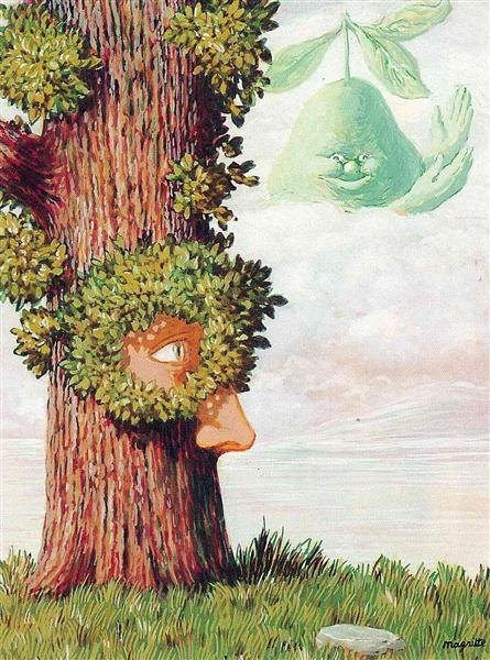Alice in Wonderland, 1945 - Rene Magritte