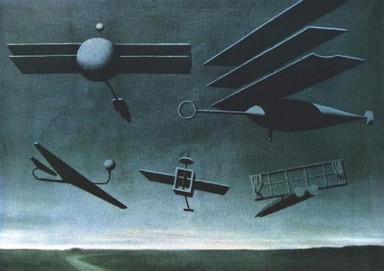 Black Flag, 1937 - Rene Magritte