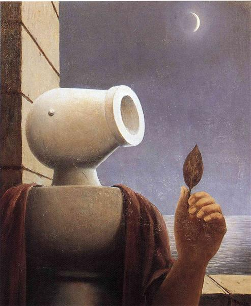 Cicero, c.1965 - Rene Magritte