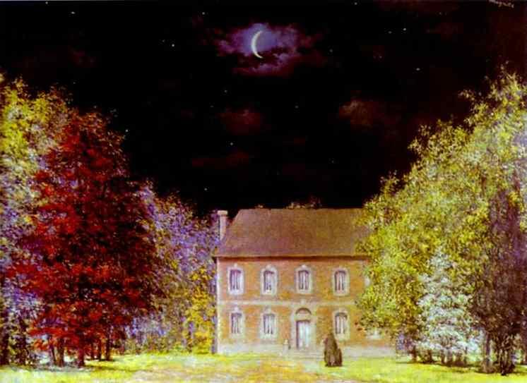 God's Salon, 1948 - Rene Magritte