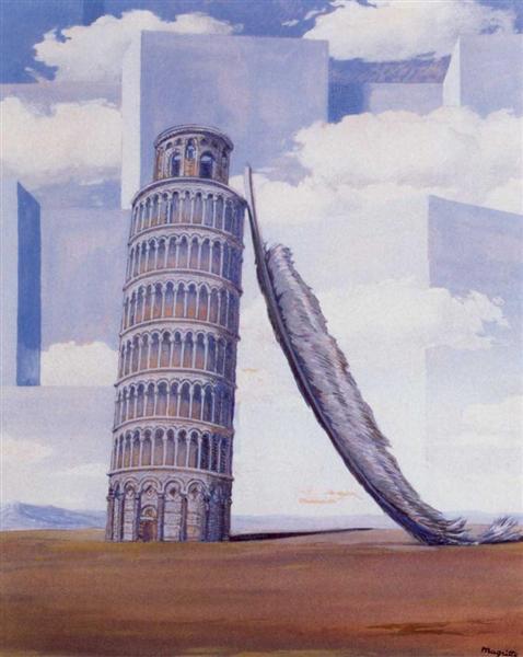 Memory of a journey, 1955 - 雷內.馬格利特