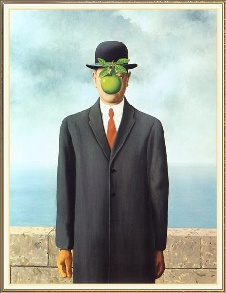 The Son of Man - Magritte Rene