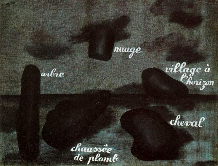 Swift Hope, 1928 - René Magritte
