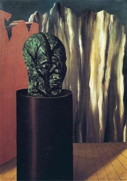 The forest, 1927 - Rene Magritte