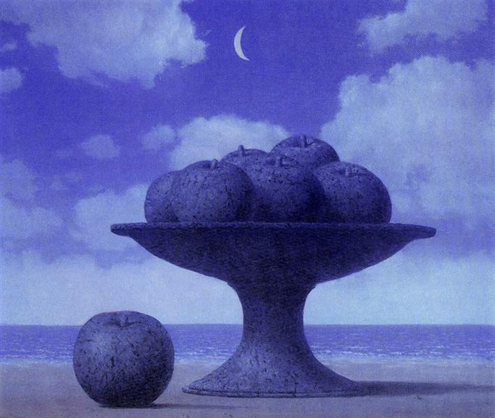 The great table, c.1965 - Rene Magritte