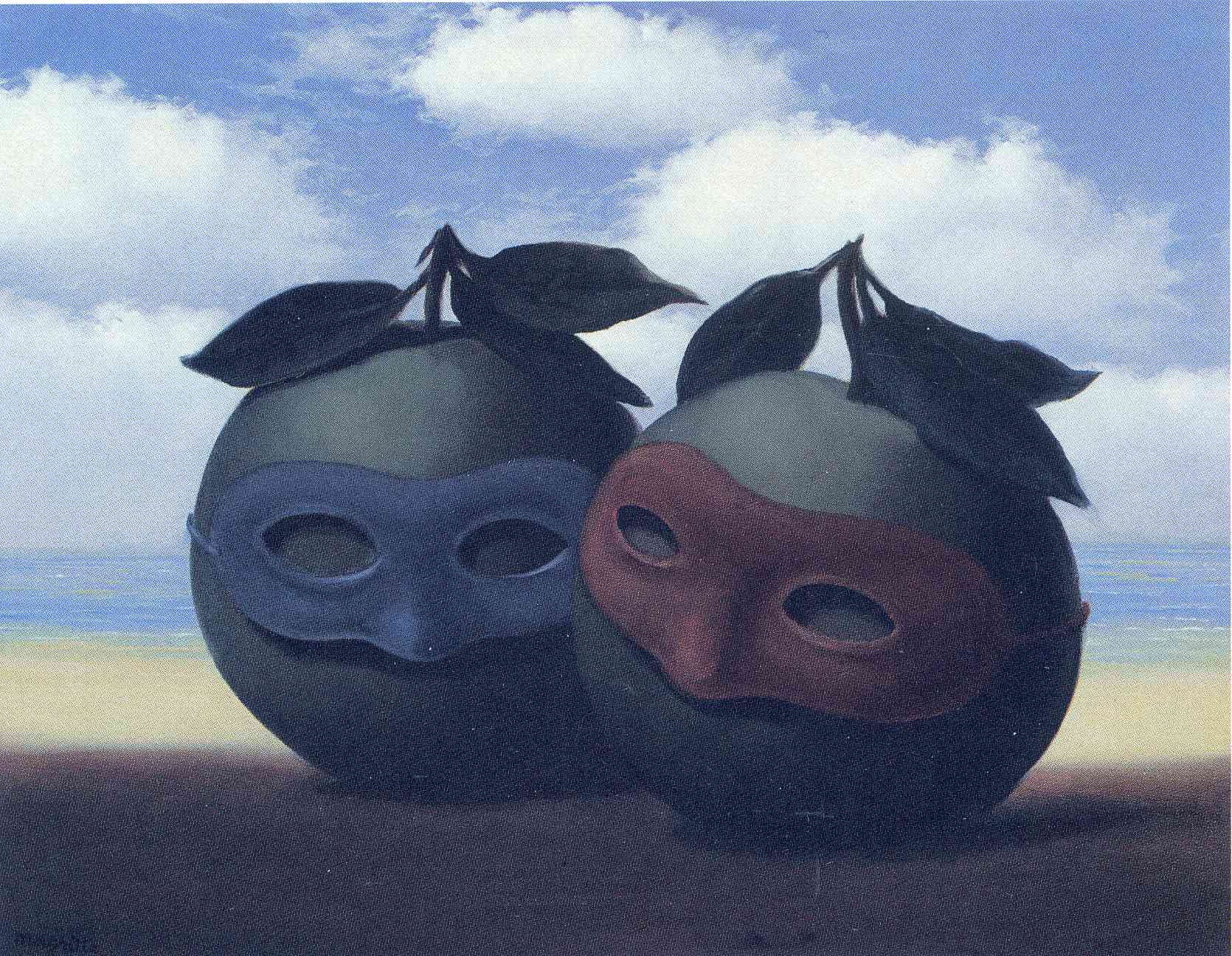 The hesitation waltz, 1950 - Rene Magritte - WikiArt.org