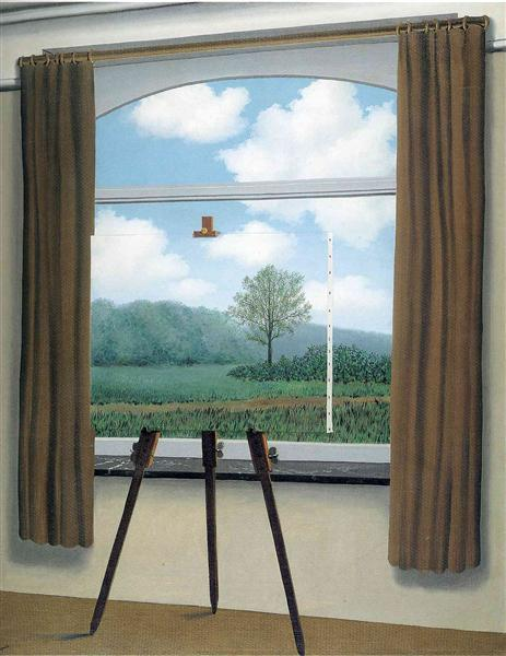The human condition, 1933 - Rene Magritte