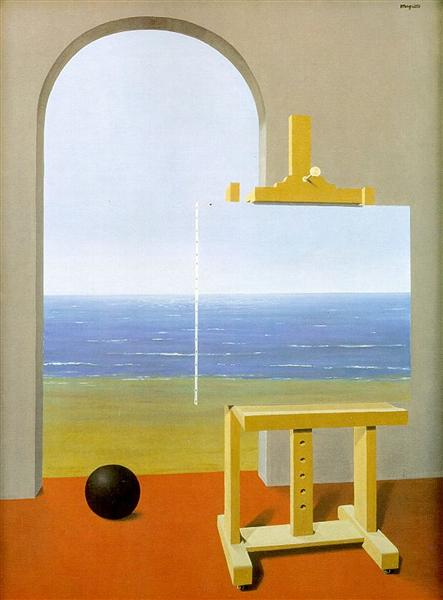 The human condition, 1935 - Rene Magritte