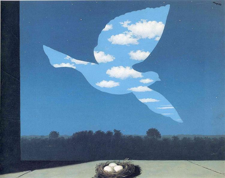 The Return, 1940 - Rene Magritte - WikiArt.org