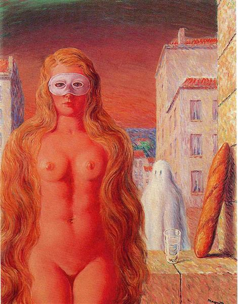 The sage's carnival, 1947 - Rene Magritte
