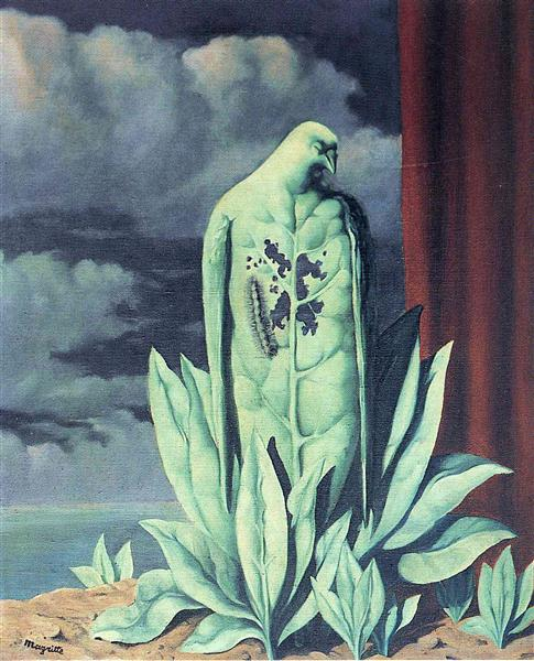 The Taste of Sorrow, 1948 - Rene Magritte