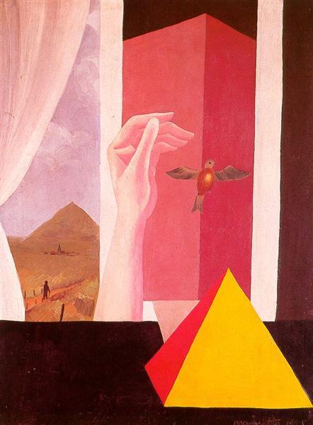 The window, 1925 - René Magritte