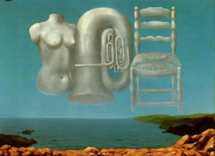 Threatening Weather, 1929 - Rene Magritte