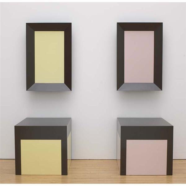 Mirror/Mirror - Table/Table, 1964 - Richard Artschwager
