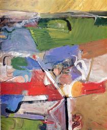 Berkeley No. 23 - Richard Diebenkorn