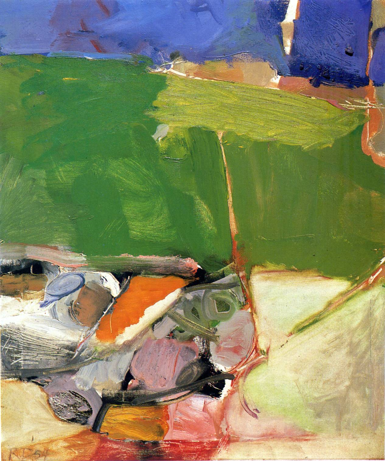 Berkeley No  33Richard Diebenkorn Paintings